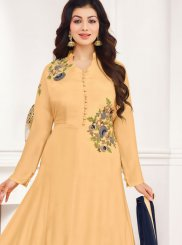 Ayesha Takia Cotton Satin Designer Straight Suit