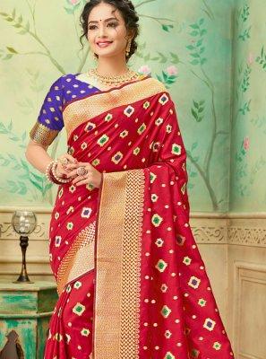 Banarasi Silk Casual Trendy Saree