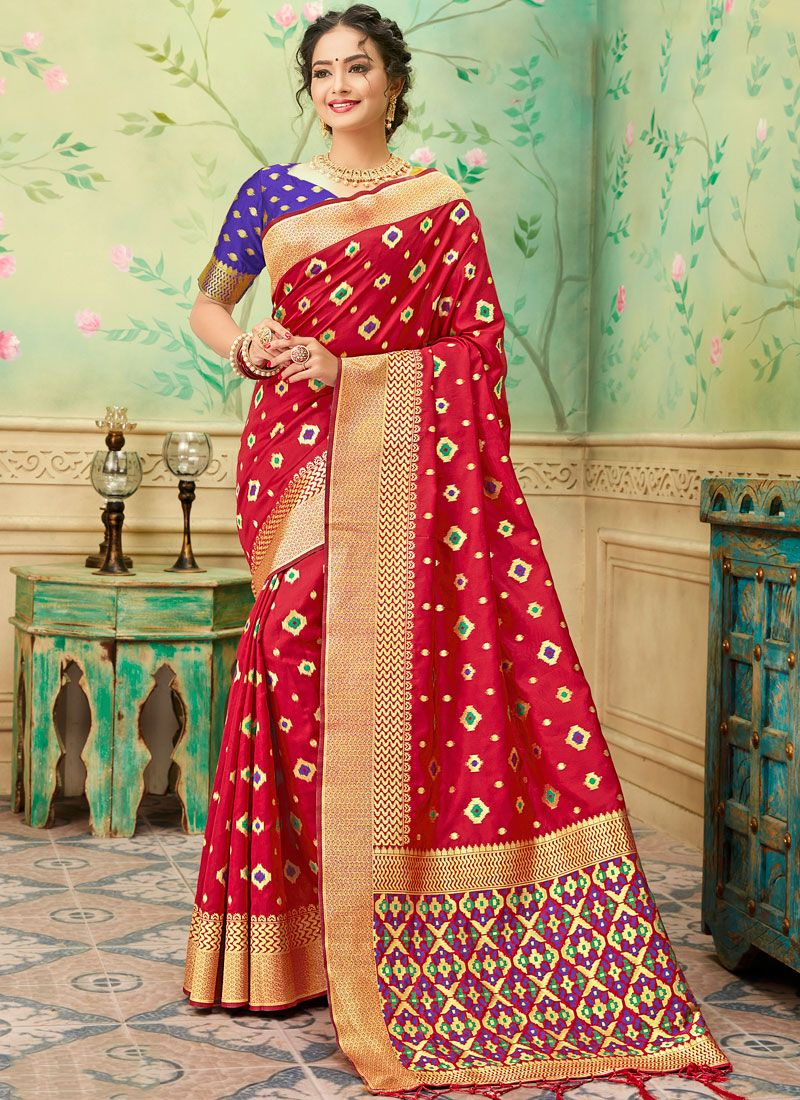 Banarasi Silk Casual Trendy Saree