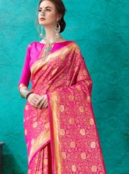 Banarasi Silk Ceremonial Designer Saree