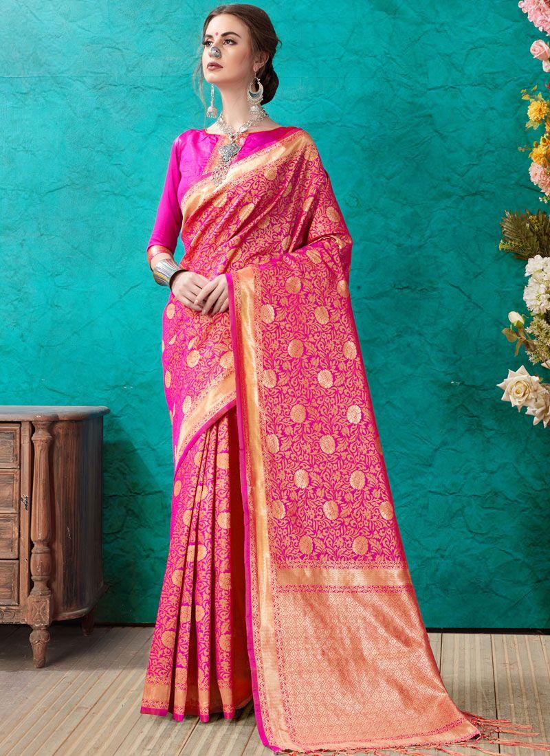 Banarasi Silk Ceremonial Designer Saree