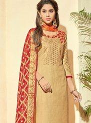 Banarasi Silk Ceremonial Pant Style Suit