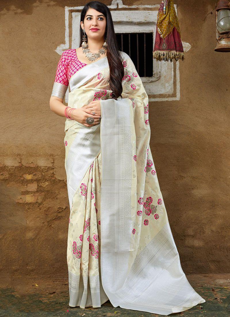 Banarasi Silk Ceremonial Traditional Saree