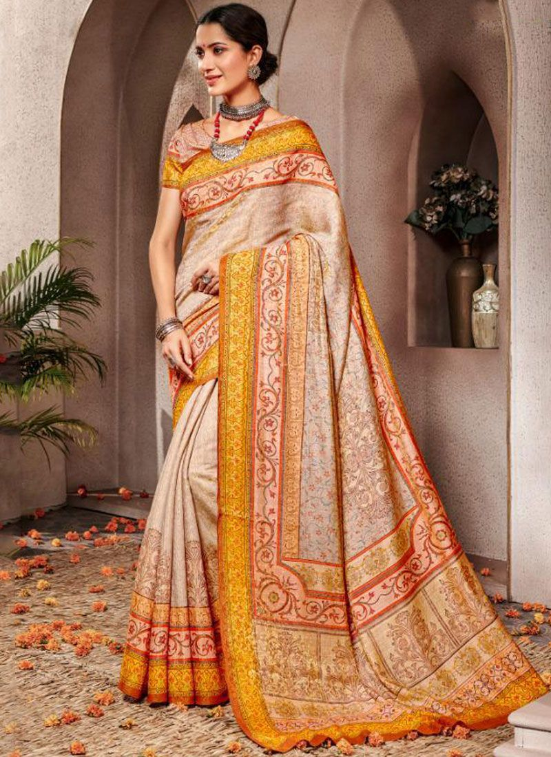 Banarasi Silk Ceremonial Traditional Saree
