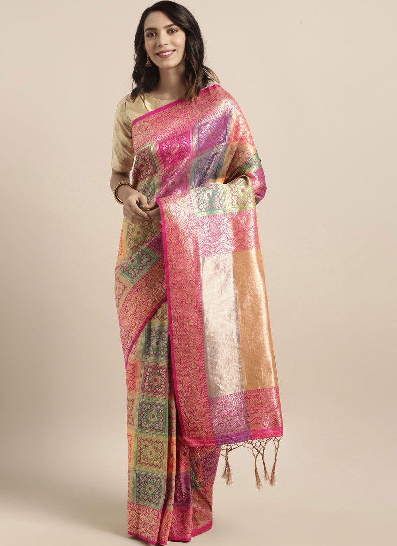 Banarasi Silk Festival Traditional Saree