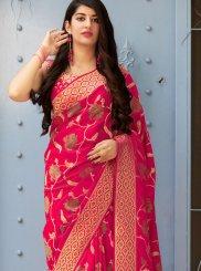 Banarasi Silk Reception Silk Saree