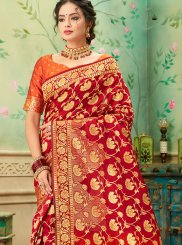 Banarasi Silk Weaving Classic Saree