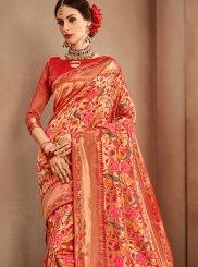 Banarasi Silk Weaving Designer Bridal Sarees