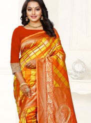 Banarasi Silk Weaving Trendy Saree