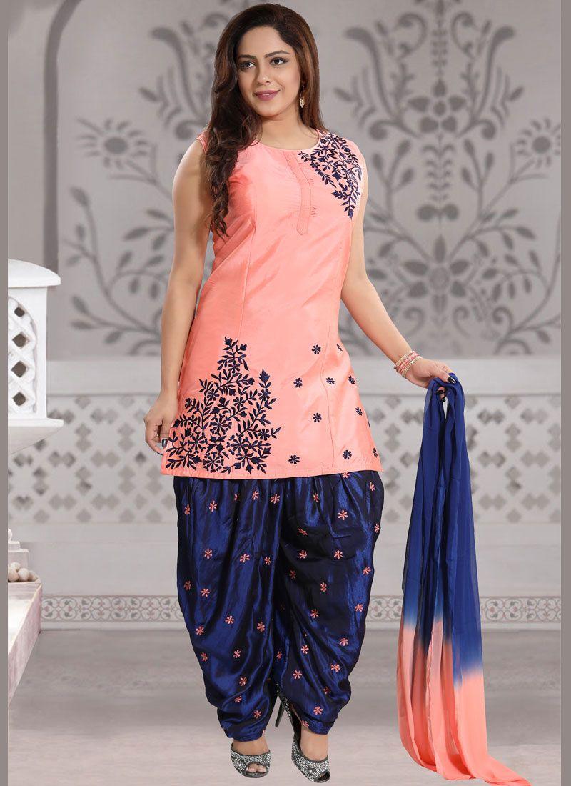 Banglori Silk Ceremonial Readymade Suit