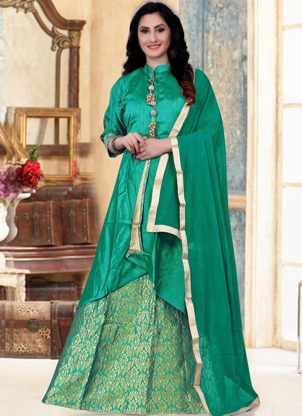 Banglori Silk Readymade Lehenga Choli