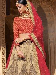 Beige Ceremonial Trendy Designer Lehenga Choli