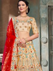 Beige Color Designer Lehenga Choli