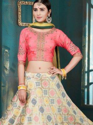 Beige Color Designer Lehenga Choli