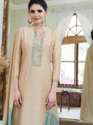 Beige Festival Designer Palazzo Suit