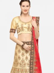 Beige Wedding Lehenga Choli