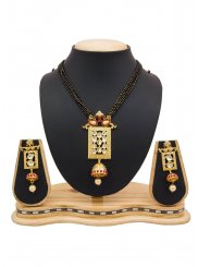 Black and Gold Mangalsutra