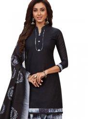 Black and Grey Patiala Salwar Suit