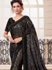Black Ceremonial Classic Designer Saree