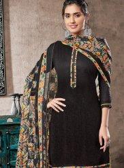 Black Color Patiala Suit