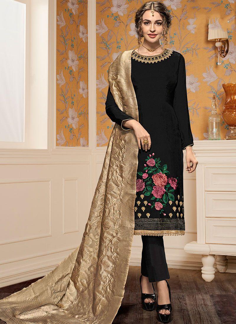 2b31c4bfd Buy Black Pant Style Suit Online -