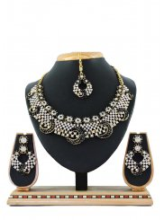 Black Reception Necklace Set