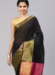 Black Traditional Saree