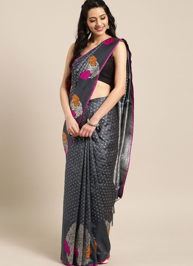 Black Weaving Ceremonial Traditional Designer Saree