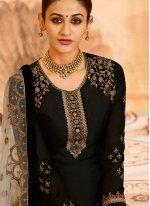 Black Wedding Designer Pakistani Suit