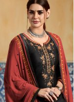 Black Wedding Designer Patiala Suit