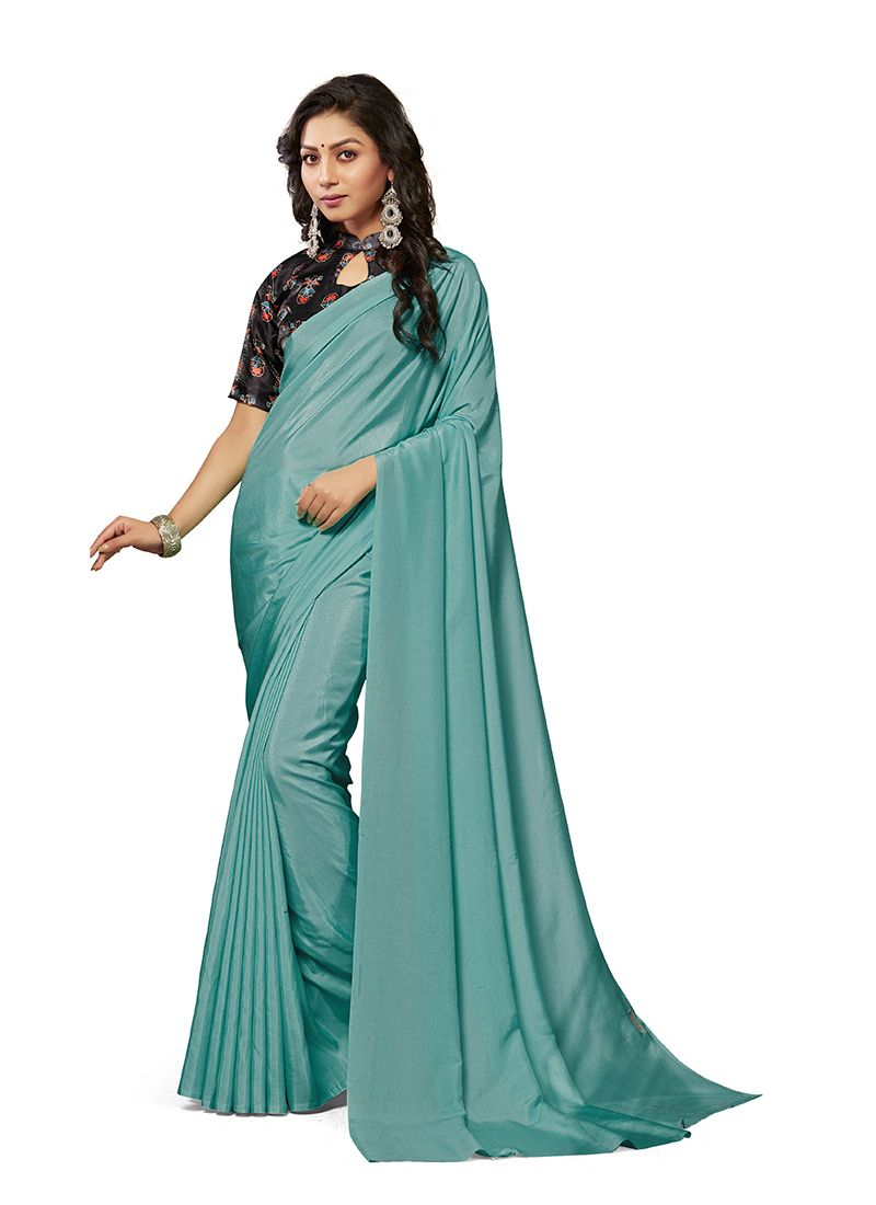 Blue Casual Traditional Saree