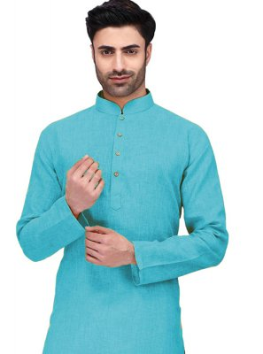 Blue Ceremonial Kurta