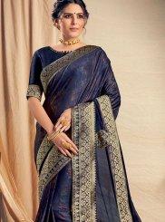 Blue Festival Traditional Designer Saree