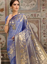 Blue Kanchipuram Silk Classic Saree