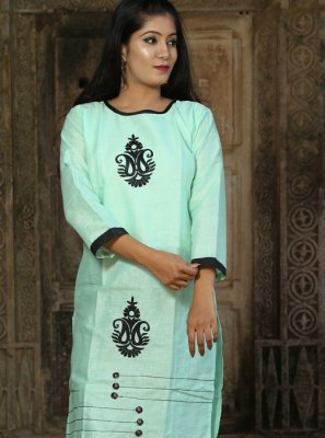 Blue Party Party Wear Kurti