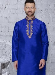 Blue Reception Kurta