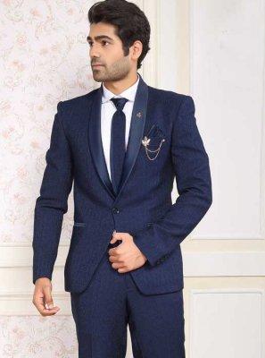 Blue Reception Viscose Coats & Blazers