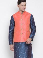Blue Sangeet Kurta Payjama With Jacket