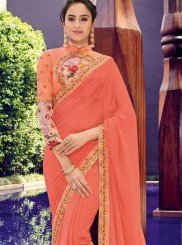 Border Ceremonial Trendy Saree