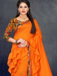 Border Festival Trendy Saree