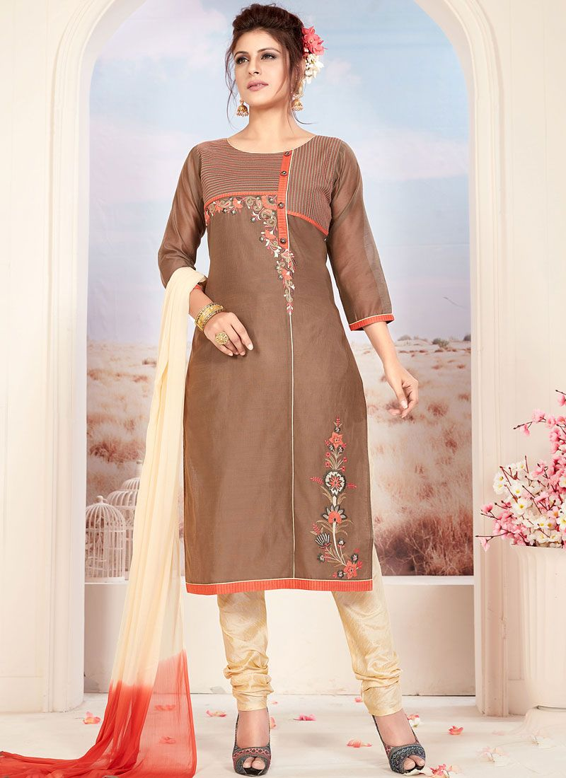 Brown Ceremonial Readymade Suit