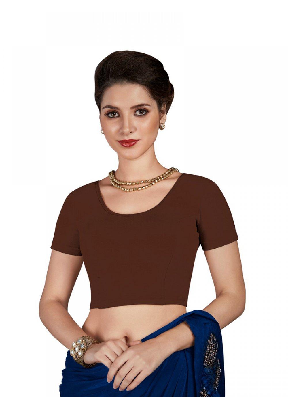 Brown Color Blouse