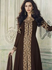 Brown Wedding Designer Salwar Suit