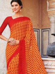 Casual Saree For Mehndi
