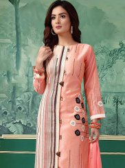 Chanderi Pink Salwar Kameez