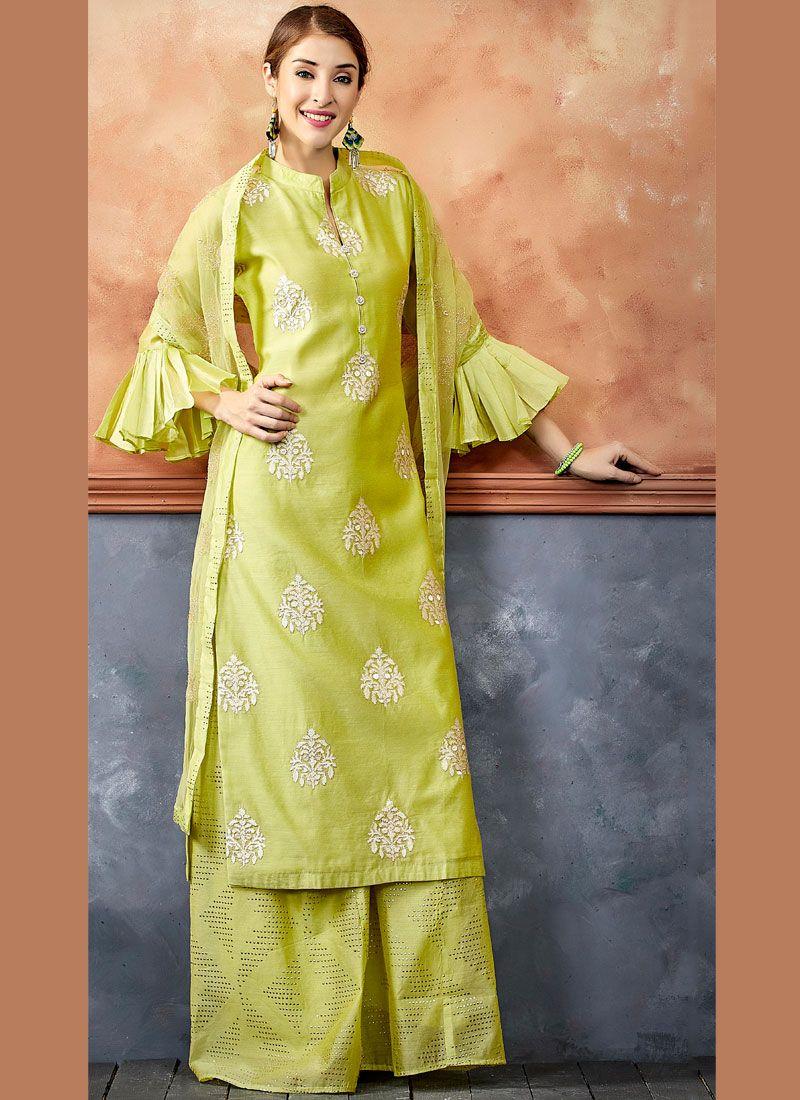 Chanderi Readymade Suit