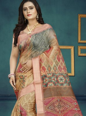 Chanderi Traditional Designer Saree