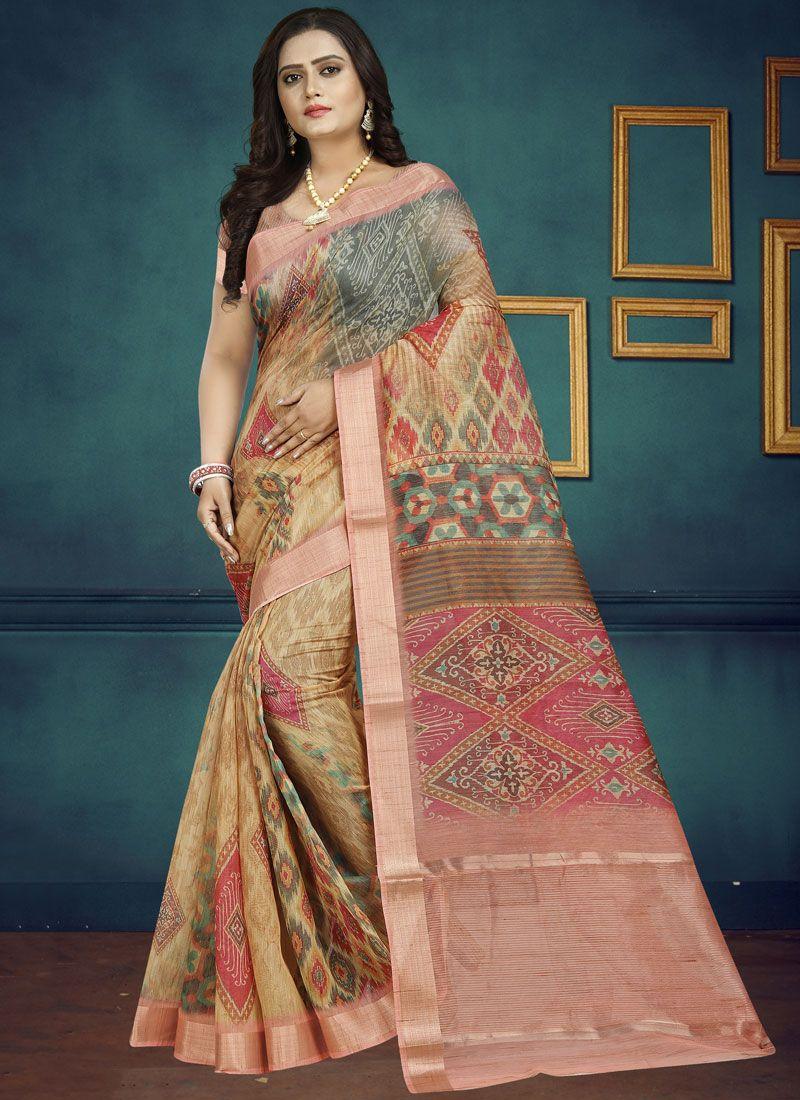 Chanderi Traditional Designer Saree