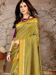 Chanderi Woven Traditional Saree