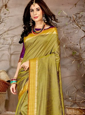 Chanderi Woven Traditional Saree